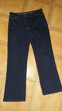 Womens Sportscraft Denim Jeans Sz12 Bnwot dark blue