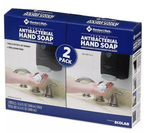 Member's Mark Commercial Foaming Hand Soap Refills 2-Pack 33.8oz Each
