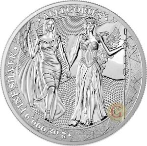 """""""Columbia and Germania"""" 2 OZ  """"The Allegories"""" series"""