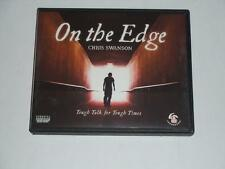 $40 4-CD Set ON THE EDGE by Chris Swanson Life Leadership TL0412  2015