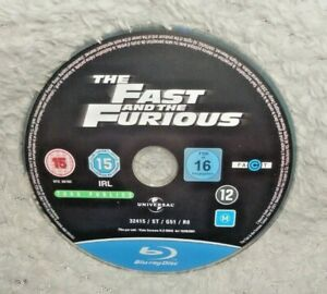 The Fast And The Furious (BLU RAY DISC ONLY)