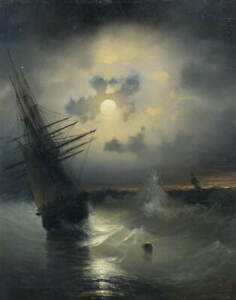 Ivan Aivazovsky Untitled Giclee Art Paper Print Paintings Poster Reproduction