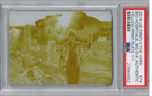 2015 UD Firefly: The Vers. Big Hospitals Big WA Printing Plate PSA Authentic 1/1