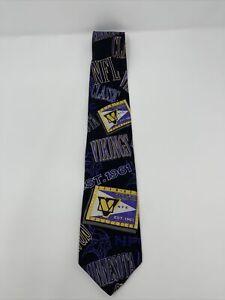 Vintage Minnesota Vikings Tie