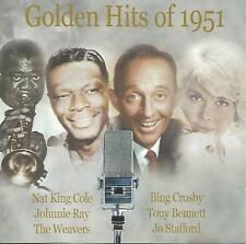 Golden Hits of 1951 CD Various Artists Winifred Atwell Weavers Jo Stafford