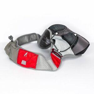 UltrAspire Waist pack Nerve Electron Belt Pouch Running Bottle Red Medium | AF