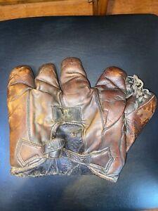Antique 1920's Old Draper And Maynard Buckleback Baseball Glove
