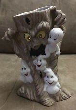 Casper the Friendly Ghost Halloween Candle Holder - Harvey Publications 1986