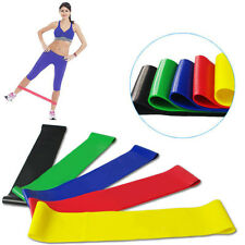 Elastic Resistance Band Exercise Loop Home Gym Yoga Class Premium Fitness Bands