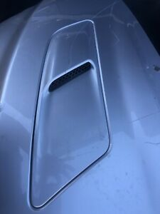 ✅ 2015 2016 2017 Ford Mustang GT LH Hood Vent Driver Side Silver- OEM
