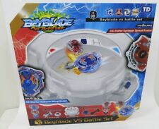 Beyblade Battle Set with 2 Beyblades VS Burst Stadium Arena Kids Boy game Gift