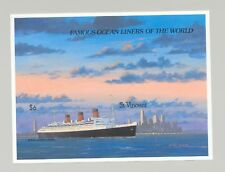 St Vincent #1181 Cruise Ships 1v S/S Imperf Proof