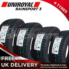 4x NEW 225 45 17 UNIROYAL RAINSPORT 3 225/45R17 91Y (4 TYRES) MAX WET GRIP TYRE
