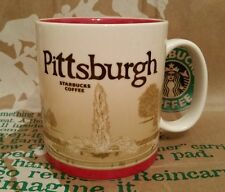 Starbucks Coffee City Mug/Tasse PITTSBURGH, Global Icon Serie, NEU u. unbenutzt!