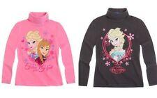 Mädchen-T-Shirts mit Rollkragen aus 100% Baumwolle