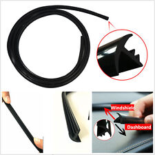 Durable Black 1.6m Car Truck Windshield Dashboard Noise Insulation Sealing Strip
