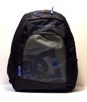 DC Shoes Backpack New Kid, Color Black/Grey/Blue (KVJ0), Style 9153040801.