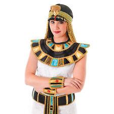 EGYPTIAN COLLAR CLEOPATRA COSTUME ACCESSORY FANCY DRESS