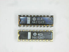 "HA11247  ""Original"" Hitachi  18P DIP IC  2  pcs"