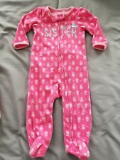 f736dbdaa Child of Mine by Carter s Pink Fleece Sleepwear (Newborn - 5T) for ...