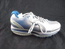Skechers shape-ups kinetic wedge size 9M womens blue silver tennis sneakers