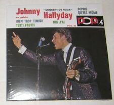 Johnny HALLYDAY (CD REPLICA) CONCERT DE ROCK EN PUBLIC POX 42 -   NEUF SCELLE