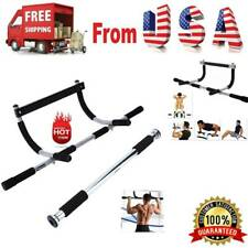 Iron Gym Pull Up Sit Up Door Bar Home Chin-Up Upper Body Workout Doorway Healthy