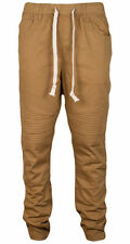 Men  Jogger Pants With Biker Patch Size M