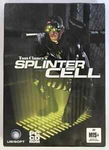 AUS Tom Clancy's Splinter Cell PC CD Game 3D Shooter 3 Disc