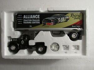 First Gear '60 Mack B-61 Tractor Trailer Alliance Racing Diecast Model Truck NEW