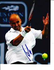 ANDRE AGASSI SIGNED WHITE SHIRT 8X10