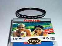 Skylight Filter 1B  55mm HTMC  Hama 71855  Neuware / OVP  Superpreis!!!