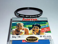 Skylight Filter 1B  55mm HTMC  Hama 71855  Neuware / OVP  Superpreis!!!