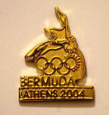 Athens 2004 Bermuda Gold Bird Olympic NOC Pin
