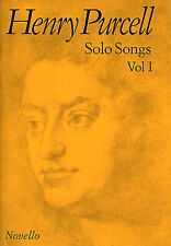 Henry PURCELL Assolo CANZONI VOLUME I imparare cantare VOCAL VOICE Choral Music BOOK 1