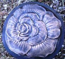 Gostatue Molde Rosa Escalonamiento Piedra Hormigón Yeso Molde