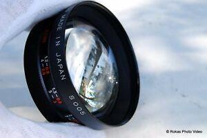Yashica Yashicor AUX Telephoto 1:4 lens S005