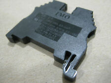IMO Din Terminal Block, Feed-Through, 20A, 600 V, 26-12 AWG,  (lot of 195)