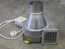 Industrial Extractor Fan Centrifugal Blower 650m3/hr 230v New Dust Extraction