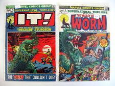 *SUPERNATURAL THRILLERS HIGH GRADE LOT (1972) #1-15 11 Books Guide $348.50