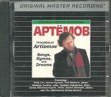 Artiomov, Vyacheslav Songs Hymns And Dreams MFSL Silver CD Neu OVP Sealed OOP