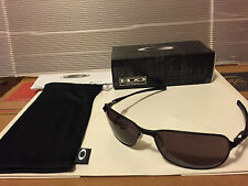 NEW Oakley - C-Wire - Sunglasses, Matte Black / Grey Lens, OO4046-04