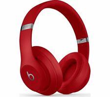 BEATS Studio 3 Wireless Bluetooth Noise-Cancelling Headphones in Red, UK Seller