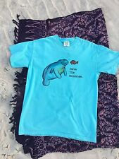 Endangered Animals / Species Save the Manatee Short Sleeve T-shirt Medium