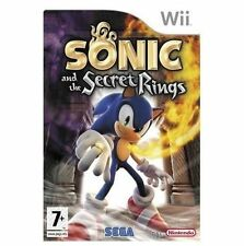 Sonic and the Secret Rings (Nintendo Wii, 2007) NEW AND SEALED UK PAL