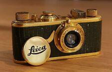 "Leica Leitz Wetzlar I Luxus Gold LELUX ""Foto Koch Frankfurt"""