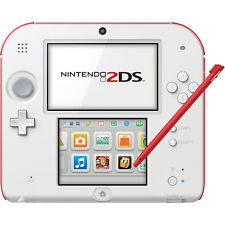 Nintendo 2DS (Scarlet Red) - REFURBISHED BY NINTENDO - Warranty Included