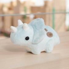 "Triceratops - 7.5"" Bellzi Stuffed Plush Blue Mini Seri Chibi Kawaii Dinosaur"