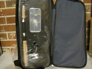 OKUMA VS-605-20 VOYAGER SPINNING TRAVEL KIT AND CARRY CASE--NEW