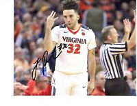 London Perrantes autograph signed basketball photo 8x10 Virginia Cavaliers UVA